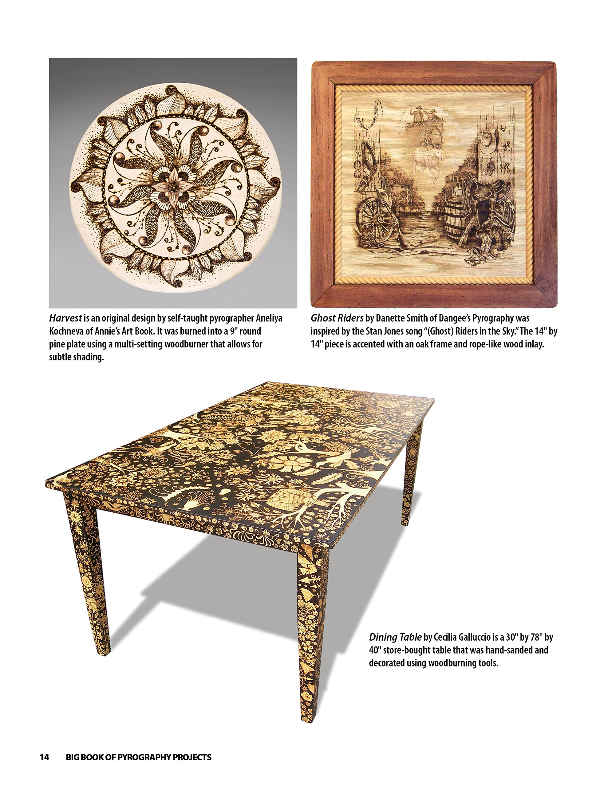 Big Book of Pyrography Projects Expert Techniques and 23 All Time
