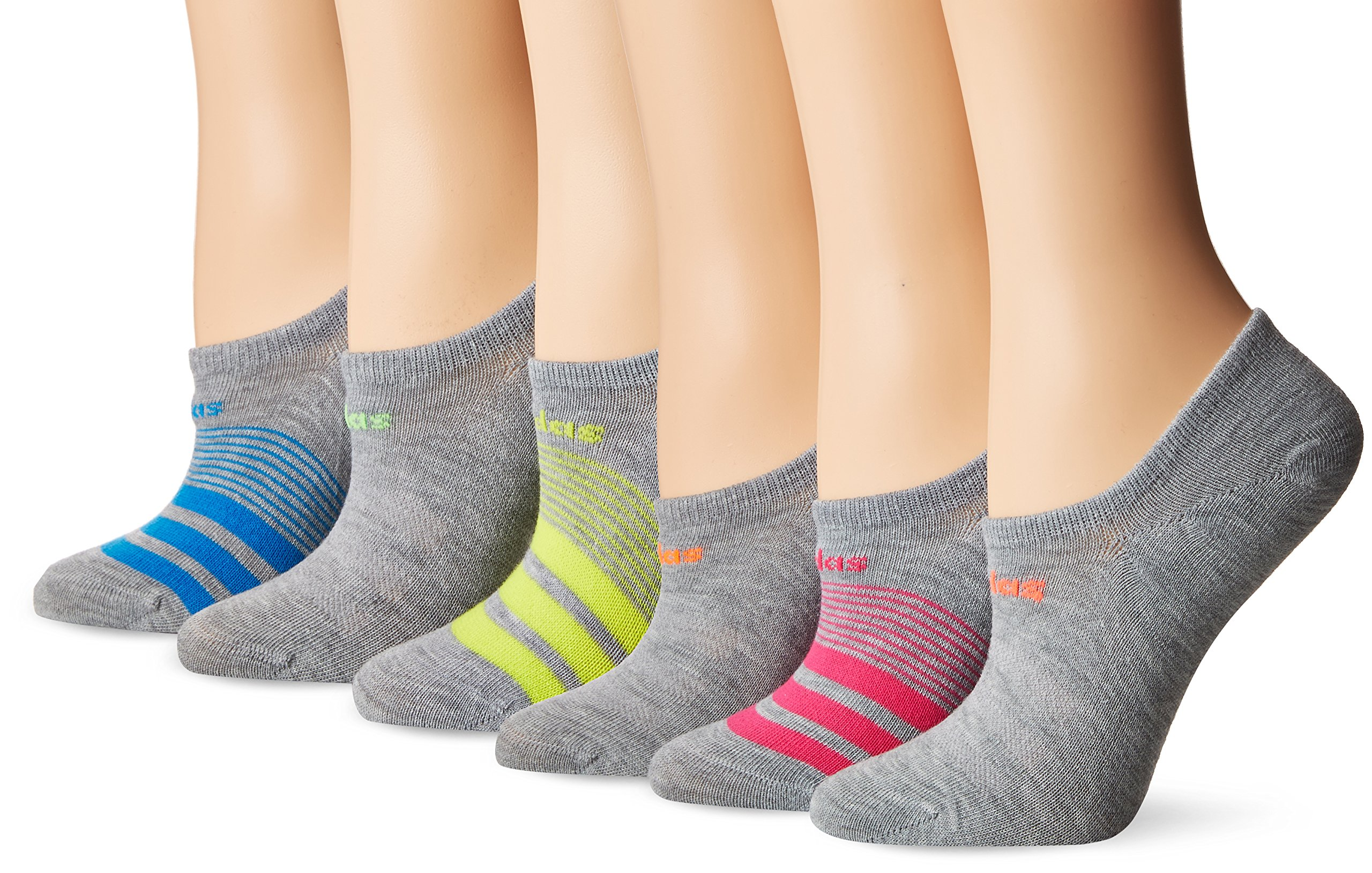 adidas Women's Superlite Super No Show Socks (6-Pack)