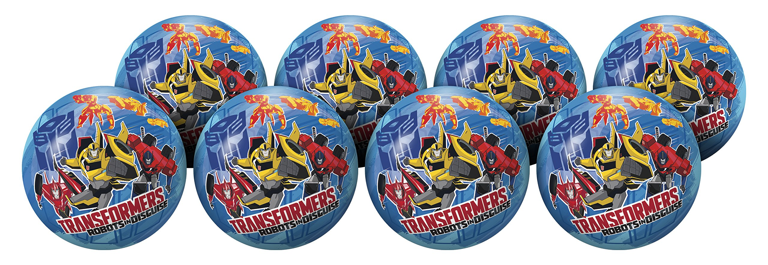 Hedstrom Transformers Playball Party Pack, 6 Inch, 8 Balls