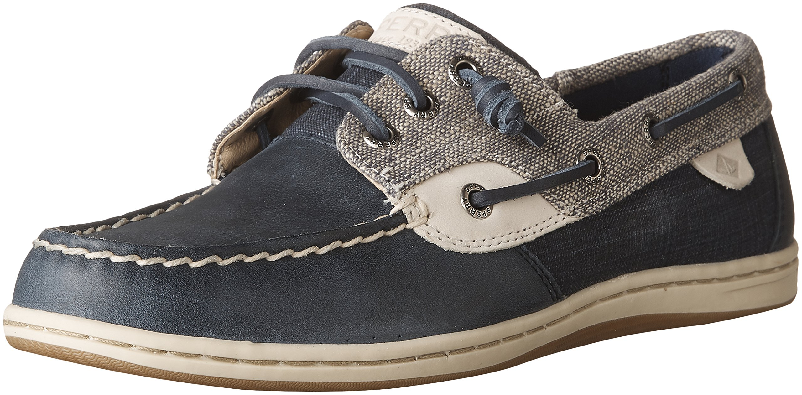 Sperry Top-Sider Women's Songfish Heavy Linen Boat Shoe