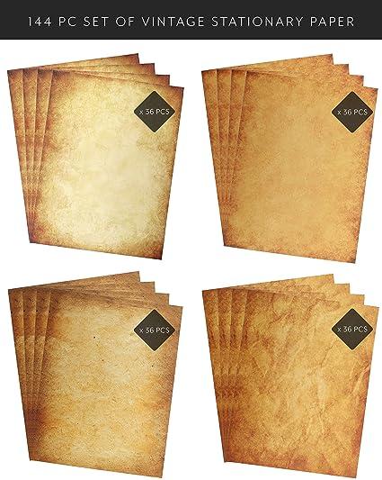 Papel de papelería y impresora de diseño antiguo vintage, 21 ...