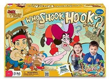 Jake und die Nimmerland Piraten Who Shook Hook Spiel [UK Import]
