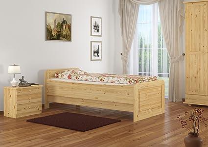 Erst-Holz Bel Cama clásico para Mayores 100 x 200 con ...