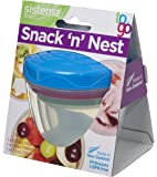 Sistema To Go Snack 'n' Nest - Food Storage Containers - Pack of 3