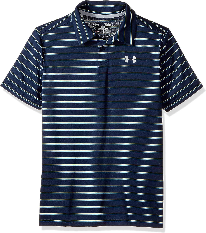 Under Armour Boys Putting Stripe Polo Shirt,Academy (408 ...