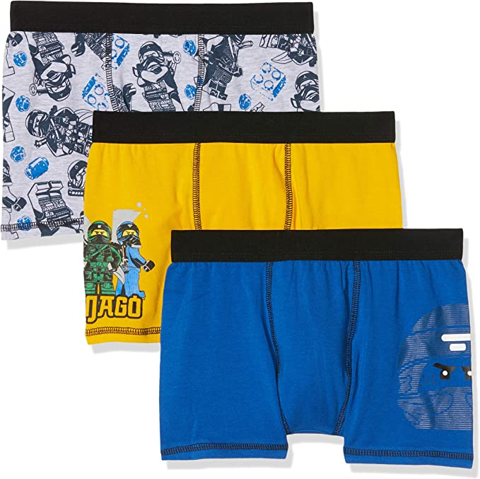 Lego Wear Boys Boxer Shorts Pack of 3