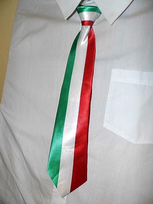 Corbata Binder de los colores nacionales de Italia: Amazon.es ...