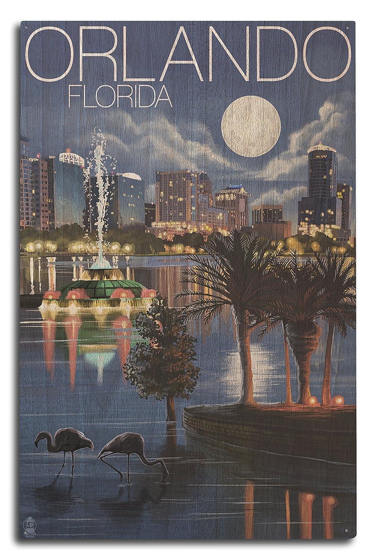 最高級のスーパー オーランド、フロリダ州 x – 夜のスカイライン 12 Sign x 18 Metal Sign x LANT-36394-12x18M B07367Z6V9 10 x 15 Wood Sign 10 x 15 Wood Sign, アメリカン雑貨 HIDE OUT:56325154 --- 4x4.lt