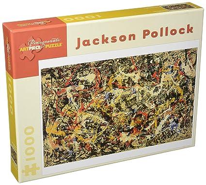 JACKSON POLLOCK 1000 PIECE JIGSAW PUZZLE Convergence