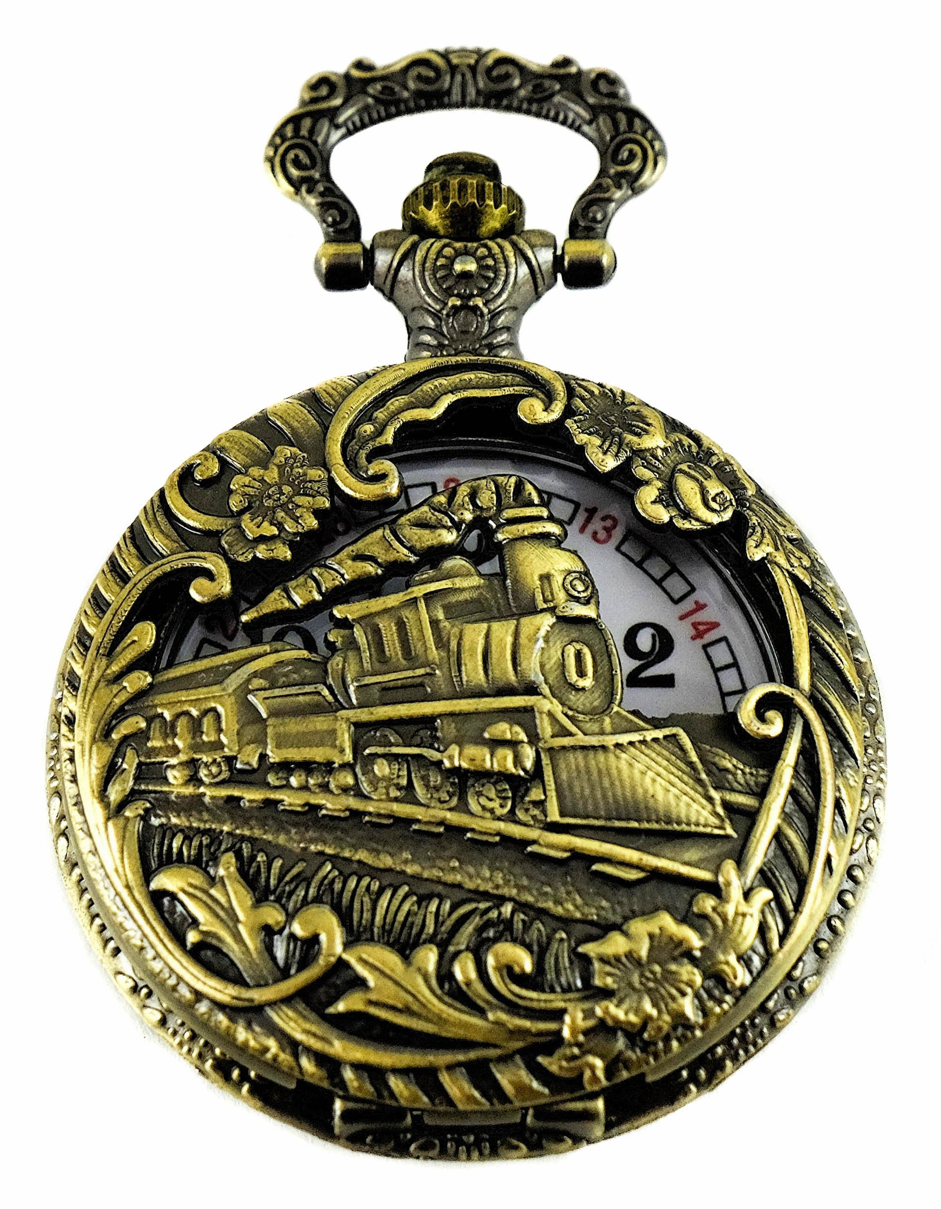 150 Canada 2017 Birthday Regulation Railway Pocket Watch 3 of Limited Collection with Japanese Movement, Licence C-12242