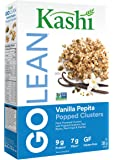 Kashi Go Lean Gluten-Free Popped Clusters Vanilla Pepita Cereal, 306g