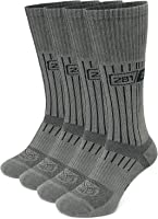 Military Mid Calf Boot Socks - Tactical Trekking Hiking - Outdoor Athletic Sport by 281Z (Foliage Green)
