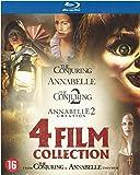 Coffret 4 Films : Annabelle 1 et 2 + The Conjuring 1 et 2 [Blu Ray]