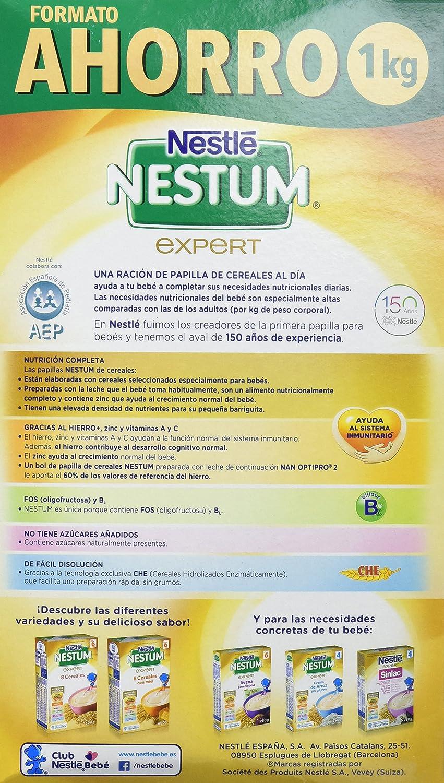 NESTLE Nestum Expert 8 Cereales con Galleta 1000 g: Amazon.es: Salud ...