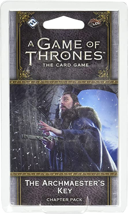 A Game of Thrones LCG The Archmaester/'s Key Chapter Pack