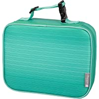 """Insulated Durable Lunch Box Sleeve - Reusable Lunch Bag - Securely Cover Your Bento Box, Works with Bentology Bento Box, Bentgo, Kinsho, Yumbox (8""""x10""""x3"""") - Turquoise"""