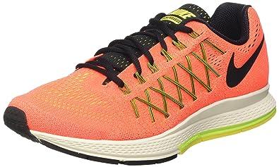 new arrival d17b8 a7b6c Nike Damen Air Zoom Pegasus 32 Laufschuhe Hyper OrangeBlackVoltOptic  Yellow