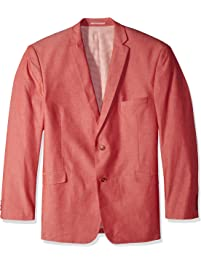 U.S. Polo Assn. Mens Big and Tall Chambray Sport Coat Sport Jacket