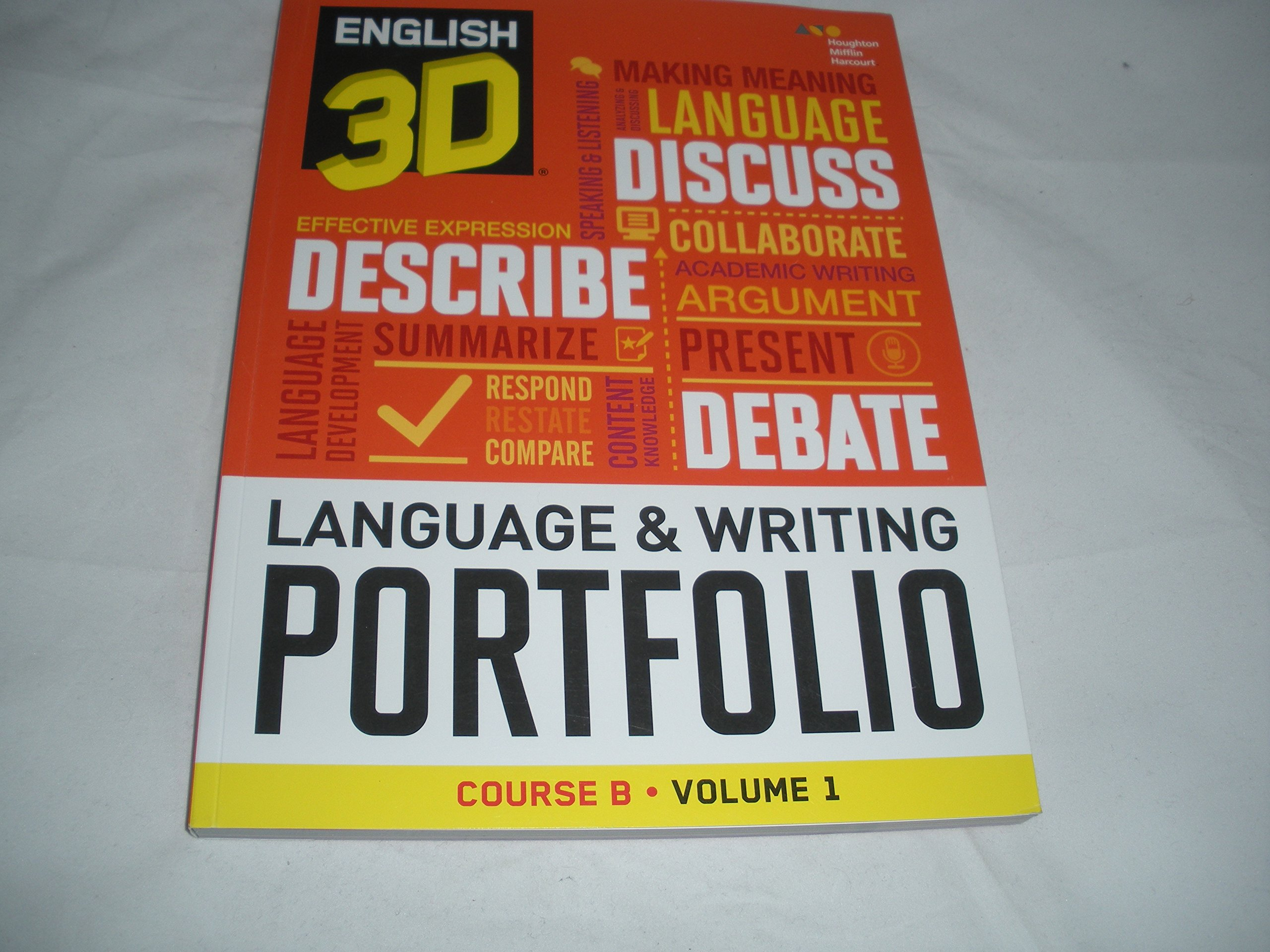 English 3D Language & Writing Portfolio Course B Volume 1 PDF