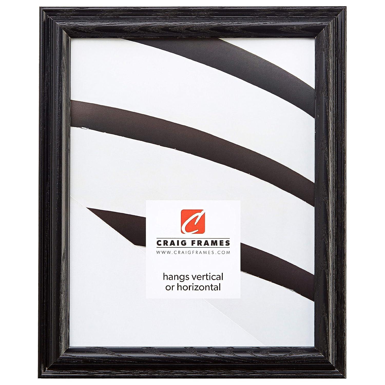 クレイグフレーム130 ASHBK木目仕上げ3 by 7-inch写真/ポスターフレーム 3 x 18 ブラック 130ASHBK0318 B0049A72KI 3 x 18