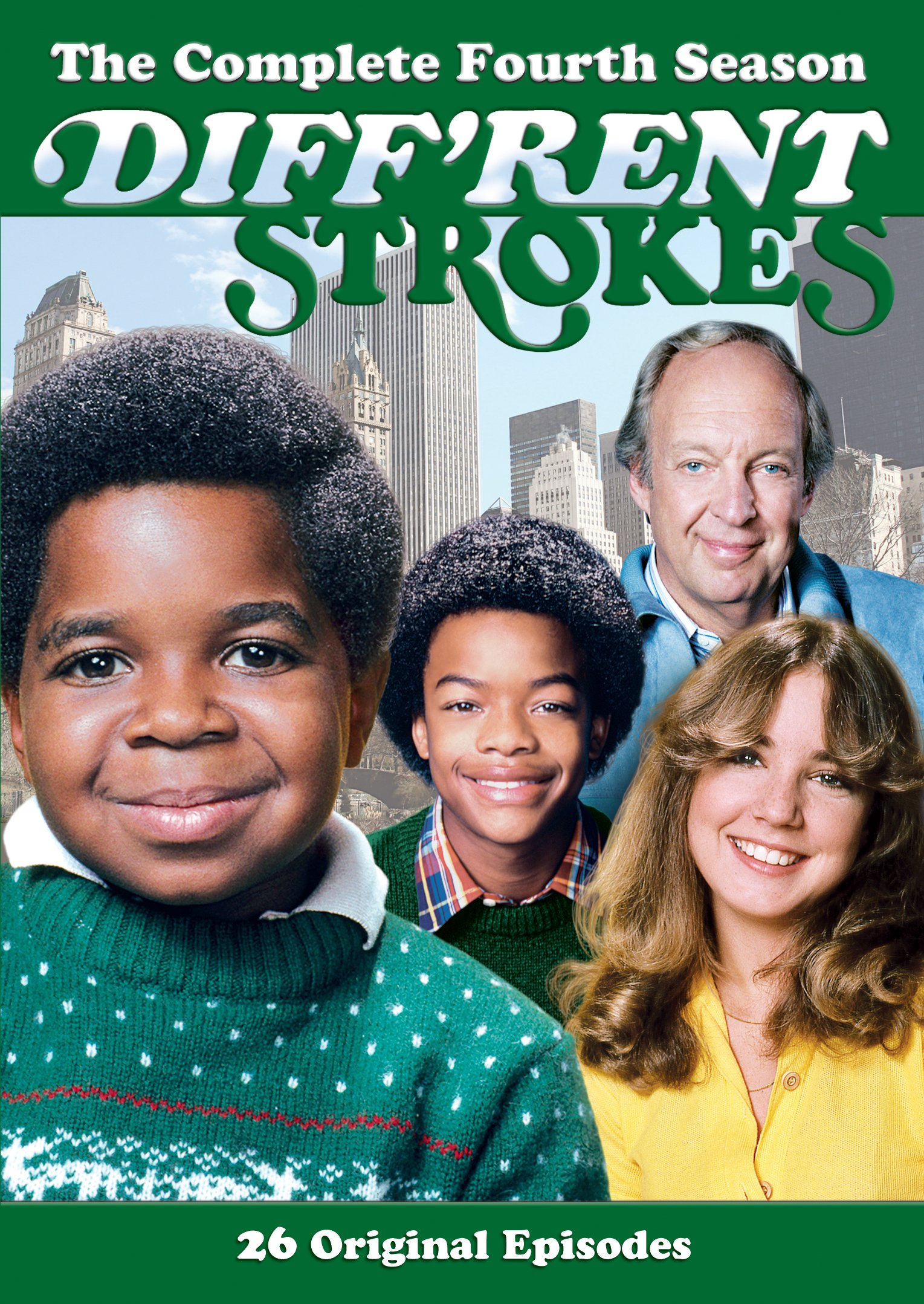 DVD : Diff'rent Strokes: The Complete Fourth Season (DVD)