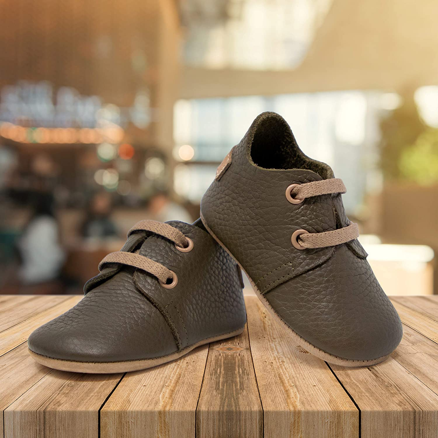 Rubber and Soft Sole Ella Bonna Oxford Baby Boy Shoes Toddler Girl Baby Walking Shoes Leather Baby Shoes Newborn Infant Mini Kids Crib Baby Moccasins