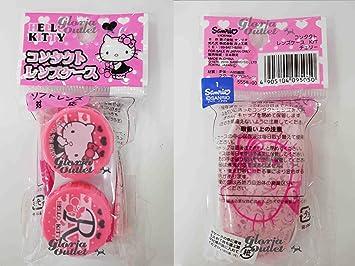 11389c59d Amazon.com : Hello Kitty Contact Lens Case Holder : Contact Lens Cases And  Holders : Beauty