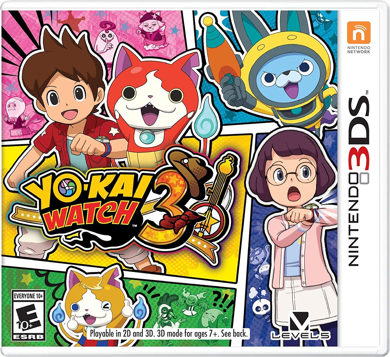 Amazon com: YO-KAI WATCH 3 - Nintendo 3DS: Nintendo of