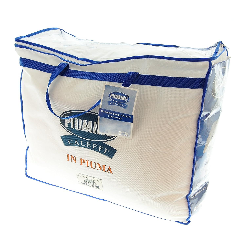 Piumino Invernale Caleffi Singolo 155x200cm Piuma doca 100/% peso 420gr//mq