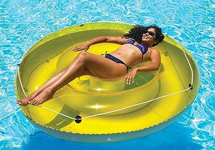 Amazon.com: Tumbona flotante Isla de sol de 6 pulgadas: Toys ...