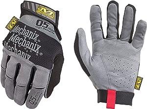Mechanix Wear: Specialty 0.5mm High-Dexterity Work Gloves (Large, Black/Grey)