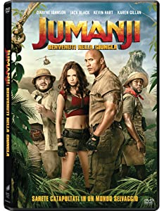 Jumanji: Benvenuti Nella Giungla [Italia] [DVD]