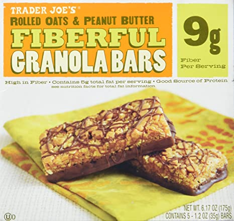 2 Cajas Comerciante Joe s fiberful Granola Bars Copos de ...