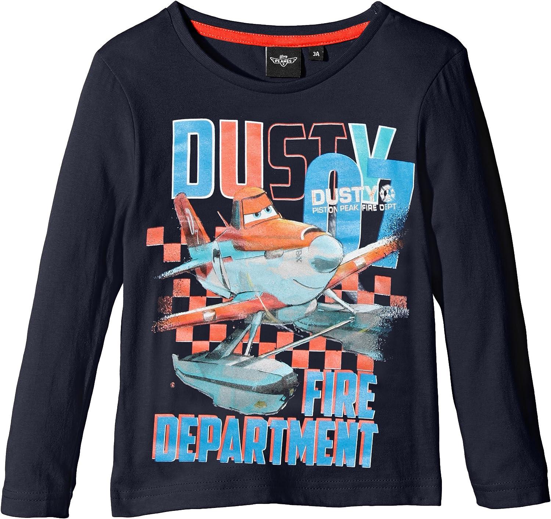 Planes Disney Pixar Boys Long Sleeve T-Shirt Age 3 to 8 Years