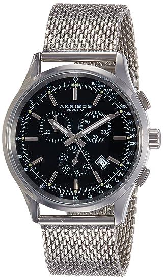 091420afc07d Akribos XXIV AK625SSB - Reloj para Hombres  Amazon.es  Relojes