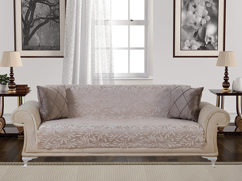 Amazoncom Chiara Rose Acacia Anti Slip Armless Pet Dog Sofa Couch