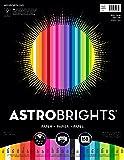 "Astrobrights Color Paper, 8.5"" x 11"", 24 lb/89 gsm, ""Spectrum"" 25-Color Assortment, 150 Sheets (80933-01)"