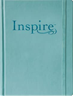 Inspire Bible Large Print NLT The For Coloring Creative Journaling