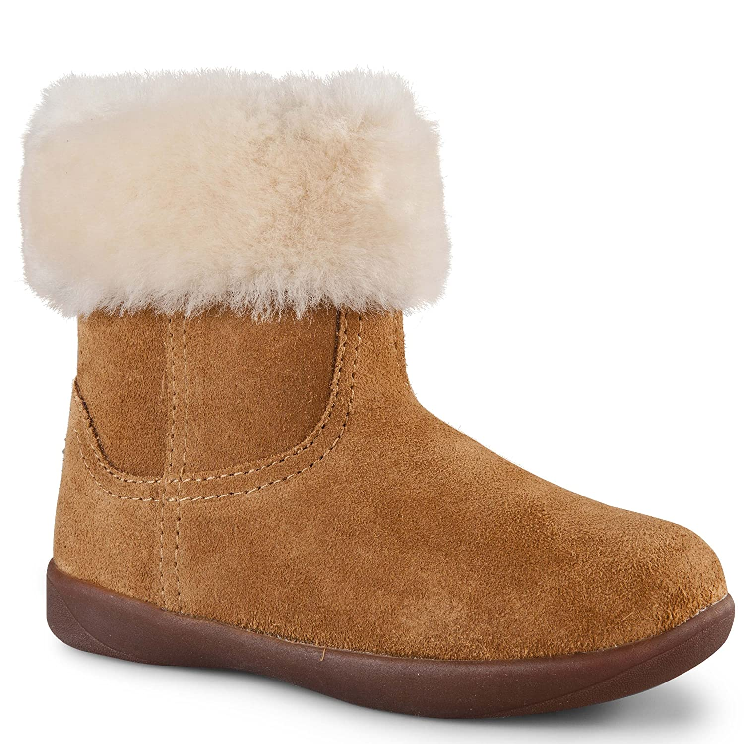 UGG Kids Baby Girl's Jorie II (Toddler) Chestnut Boot 9.5 Toddler M: Amazon.co.uk: Shoes & Bags