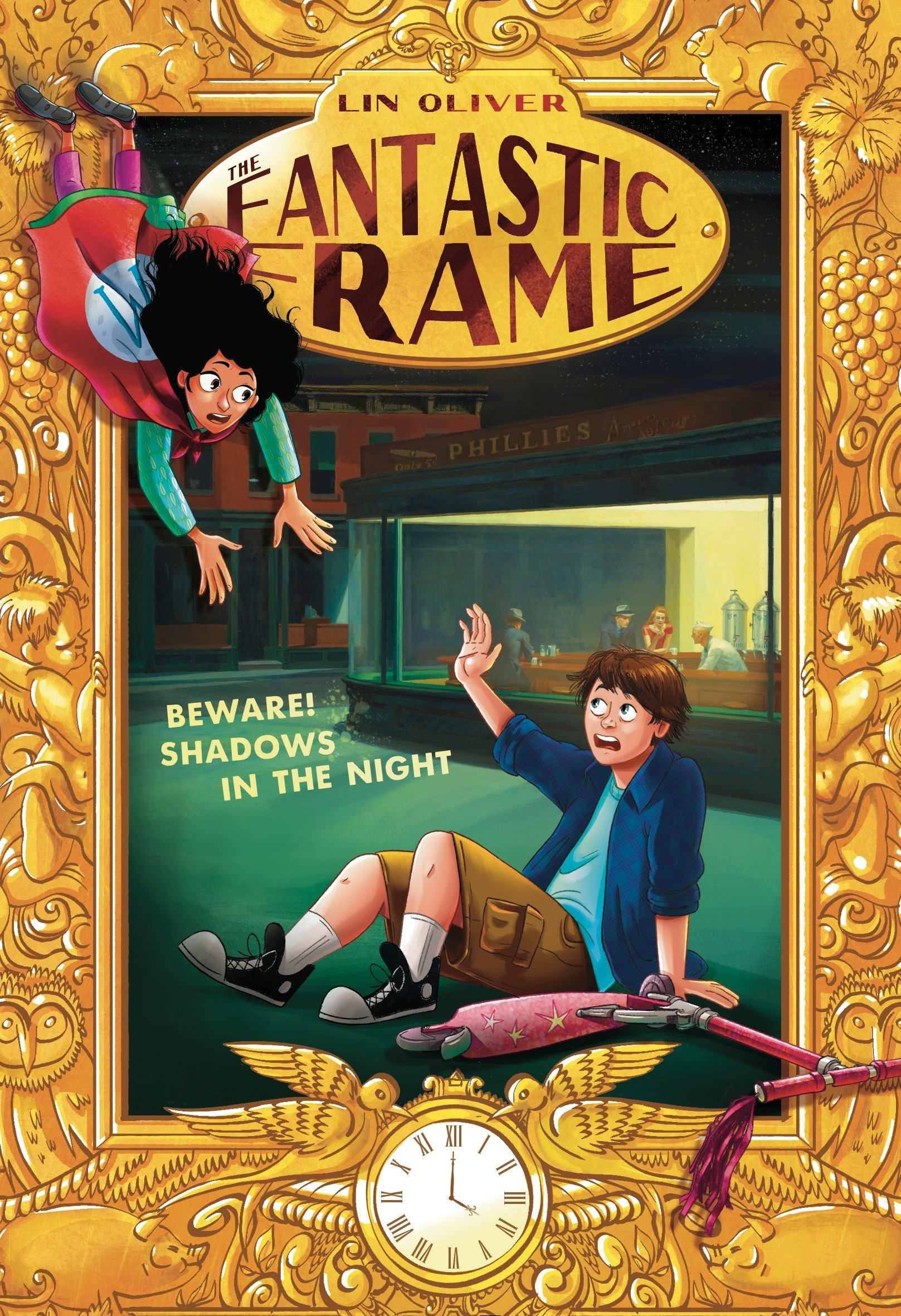 Download Beware! Shadows in the Night #3 (The Fantastic Frame) pdf
