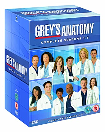 Amazon Greys Anatomy Season 1 5 Dvd Movies Tv