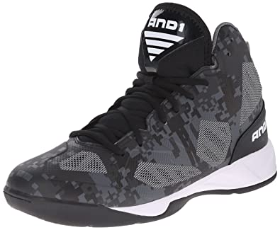 AND1 Xcelerate 2, Chaussures de Basketball Homme, Mehrfarbig (Bsw), 40 EU