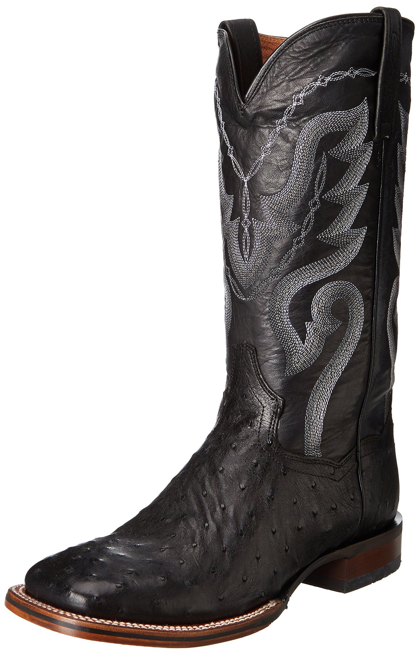 Dan Post Men's Chandler Western Boot,Black,10.5 D US by Dan Post