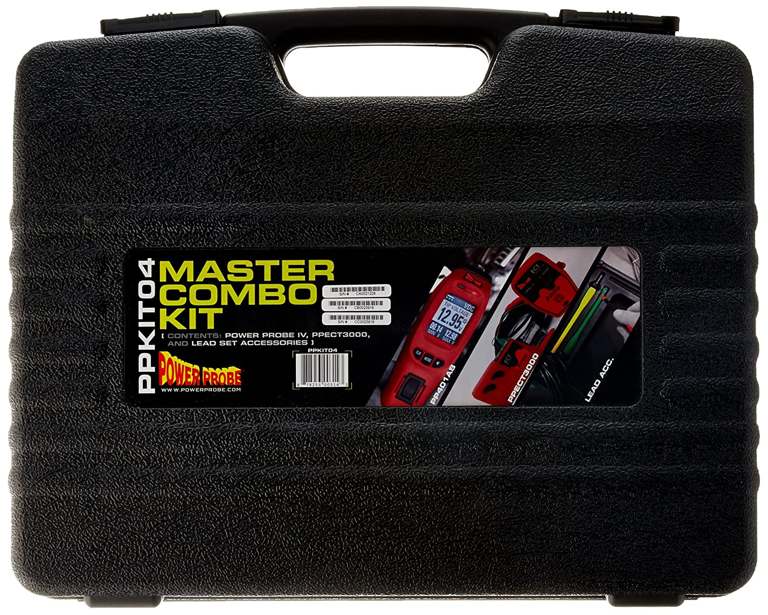 Red Includes Power Probe IV with PPECT3000 and Accessories POWER PROBE IV Master Combo Kit PPKIT04