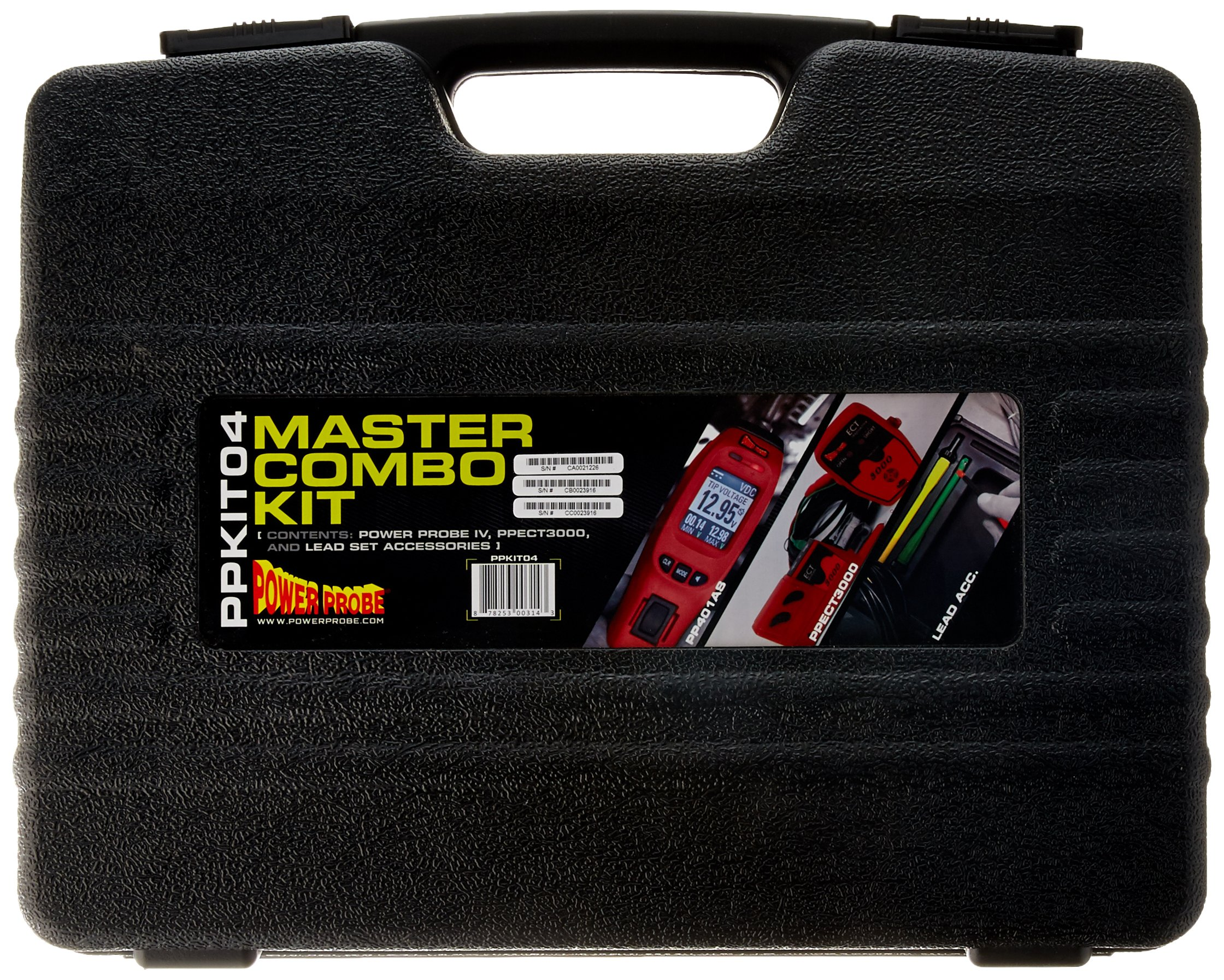 POWER PROBE IV Master Combo Kit - Red (PPKIT04) Includes Power Probe IV with PPECT3000 and Accessories by Power Probe (Image #3)