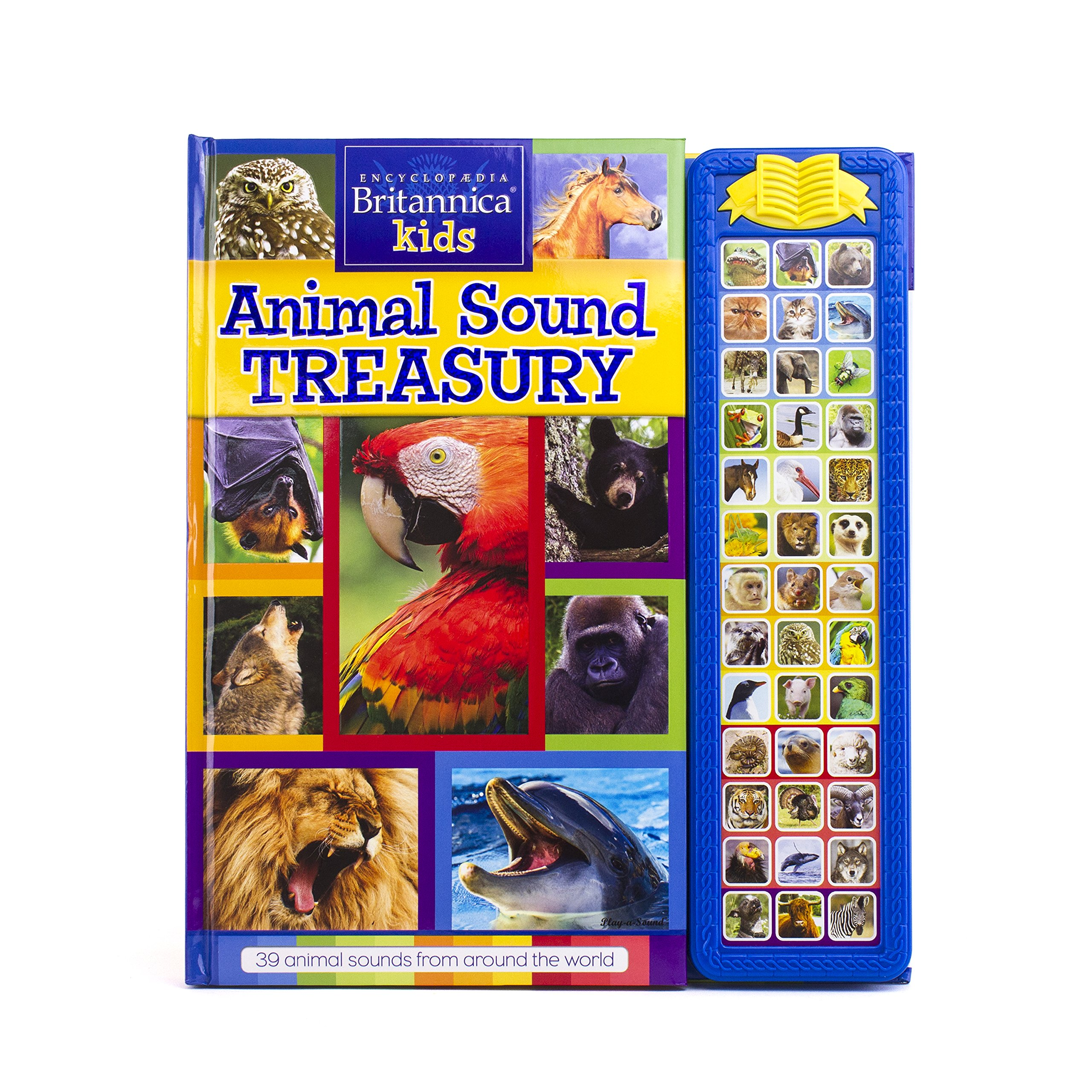 Encyclopedia Britannica Kids - Animal Sound Treasury Book - PI Kids