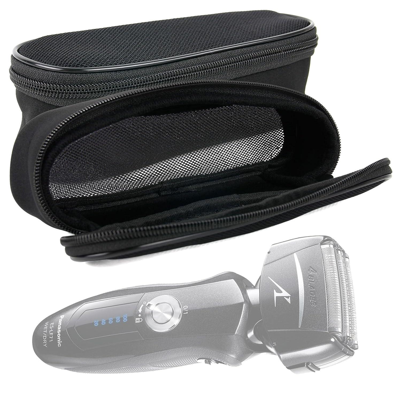 DURAGADGET Custodia Protettiva Per Rasoi Panasonic ES2207P - ES3831K - ES8103S / Philips Norelco Multigroom - One Blade - Shaver 2100 - 3100 / Remington F5-5800 / Wahl Professional 8061 - Ideale Per Viaggiare - Colore Nero