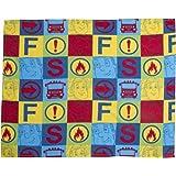Fireman Sam Duty Fleece Blanket