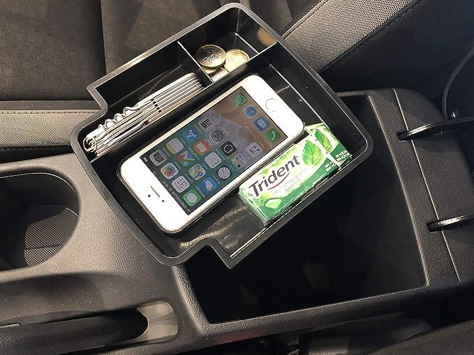Shaohoo organizer per console centrale per Kona EV 2020+ monete telefono cellulare. vassoio organizer per interni decorazione per portafoglio