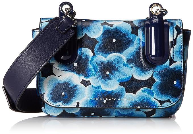 Amazon.com  Marc by Marc Jacobs Ball and Chain Printed Bond Cross Body Bag   Clothing 78474a13e70e